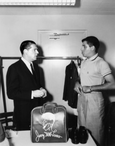 Jerry Lewis and Milton Berle circa 1959 © 1978 Bud Fraker - Image 0292_0601