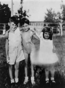 Jerry Lewis (middle) at age 51931** I.V. / M.T. - Image 0292_0606