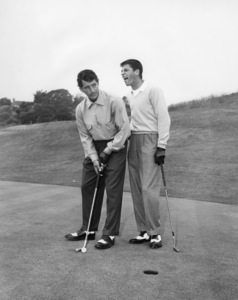 Dean Martin and Jerry Lewis at Riviera Country Club in Los Angeles1951** I.V. / M.T. - Image 0292_0611