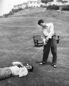 Dean Martin and Jerry Lewis at Riviera Country Club in Los Angeles1951** I.V. / M.T. - Image 0292_0612