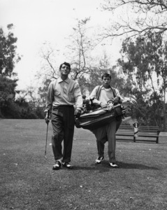 Dean Martin and Jerry Lewis at Riviera Country Club in Los Angeles1951** I.V. / M.T. - Image 0292_0614