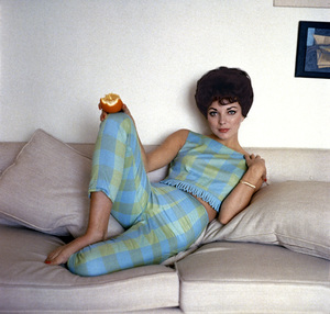Joan Collins1958 © 1978 Bob Willoughby - Image 0299_0062