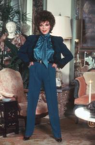 Joan Collins1985 © 1985 Mario Casilli - Image 0299_0125