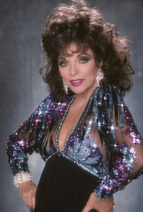 Joan Collins1989 © 1989 Mario Casilli - Image 0299_0142