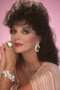Joan Collins1984 © 1984 Mario Casilli - Image 0299_0153
