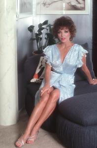 Joan CollinsMarch 1984 © 1984 Mario Casilli - Image 0299_0170