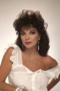 Joan Collins1984 © 1984 Mario Casilli - Image 0299_0202