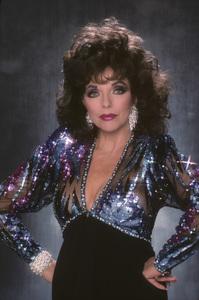 """Dynasty""Joan Collins1989© 1989 Mario Casilli - Image 0299_0212"