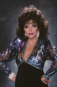 """Dynasty""Joan Collins1989© 1989 Mario Casilli - Image 0299_0212"