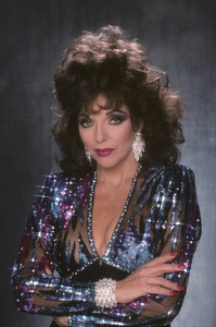 """Dynasty""Joan Collins1989© 1989 Mario Casilli - Image 0299_0233"