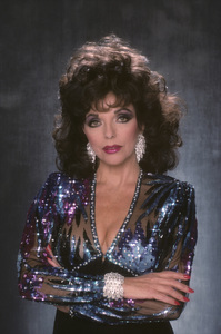 """Dynasty""Joan Collins1989© 1989 Mario Casilli - Image 0299_0234"