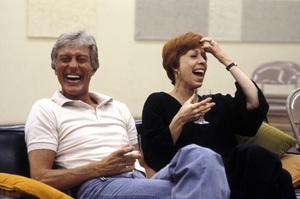 Dick Van Dyke and Carol Burnettcirca 1975 © 1978 Ken Whitmore - Image 0307_0056
