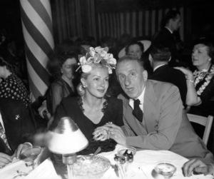 Jimmy Durante and Lana Turnercirca 1945 - Image 0312_0017