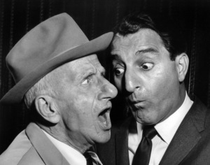 Jimmy Durante and Danny Thomascirca 1964Photo by Clayton Bud Gray - Image 0312_0055