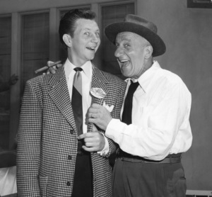 Jimmy Durante and Donald O