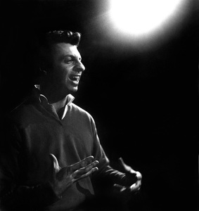 Mort Sahl performing at the