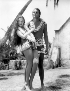 """Dorothy Lamour and Jon Hall in """"The Hurricane""""1937 United Artists** I.V. / M.T. - Image 0316_0062"""