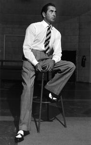 Tyrone Power during radio show08-09-1952 © 1978 Sid Avery - Image 0319_0168