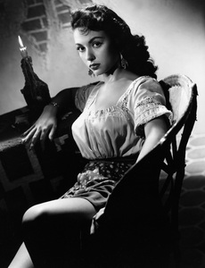 "Rita Moreno in ""Cattle Town""1952 Warner BrothersPhoto by Bert Six - Image 0320_0044"