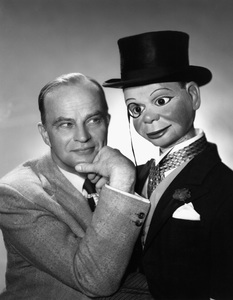 Edgar Bergen and Charlie McCarthy1956Photo by Gabi Rona - Image 0322_0059