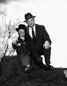 Edgar Bergen and Charlie McCarthy1956Photo by Gabi Rona - Image 0322_0060