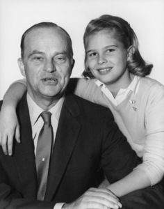 Candice Bergen and father Edgar Bergen12/16/1955Photo by Gabi Rona - Image 0324_0046