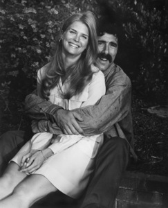 """Candice Bergen w/ Elliot Gould during filming of """"Getting Straight""""1970 - Image 0324_0169"""