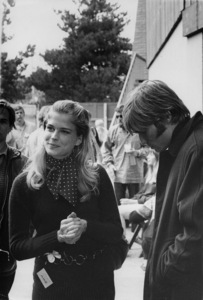Candice Bergen with Terry MelcherC. 1964 - Image 0324_0171