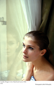 Candice Bergen in her Paris hotel room, 1968 © 1978 Bob Willoughby - Image 0324_0182