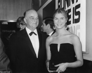 Candice Bergen w/ father Edgar BergenC. 1970 - Image 0324_0188
