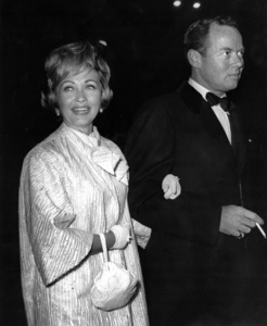 """Jane Powell and Patrick Nerney at """"Black Tights"""" premiere1960Photo by Joe Shere - Image 0328_0198"""