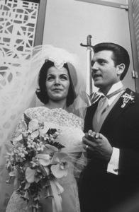 Annette Funicello, husband Jack Gilardi 1965 © 1978 Gunther - Image 0330_0111