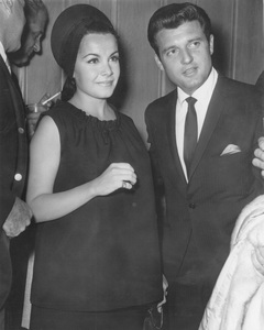 Annette FunicelloOut on the town with husband Jack Gilardibefore the birth of their daughter Gina Gilardi May 1965Photo by Joe Shere - Image 0330_0137