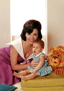 Annette Funicello with her daughter Ginacirca 1966 © 1978 John Engstead** I.V. - Image 0330_0143