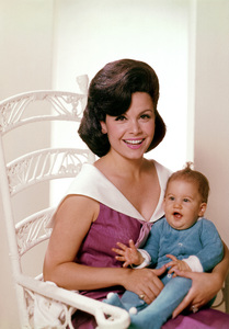 Annette Funicello with her daughter Ginacirca 1966 © 1978 John Engstead** I.V. - Image 0330_0144