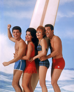 Annette Funicello with Frankie Avalon and John Ashleycirca 1964** I.V. - Image 0330_0160