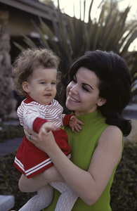 Annette Funicello and daughter Gina1967© 1978 Gene Trindl - Image 0330_0180