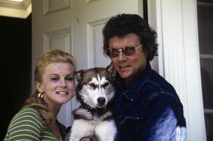 Ann-Margret, husband Roger Smith at home1972© 1978 David Sutton - Image 0332_0082