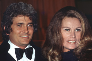 Michael Landon with wife Lynn, c. 1974 © 1978 Kim Maydole Lynch - Image 0334_0192