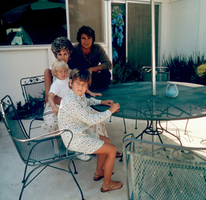 Michael Landon at home with his family, c. 1972 © 1978 Chester Maydole - Image 0334_0194
