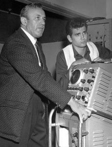Michael Landon andLee J. Cobbc. 1959 - Image 0334_0204