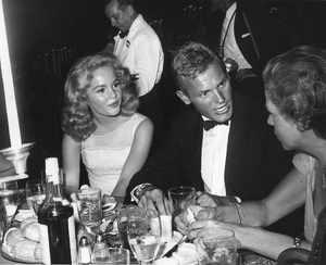 """Tuesday Weld and Tab Hunter at """"Porgy and Bess"""" party1959Photo by Joe Shere - Image 0335_0356"""