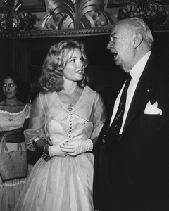 Tuesday Weld and Charles Coburn at a premiere held in Beverly Hills, Californiacirca 1950sPhoto by Joe Shere - Image 0335_0358