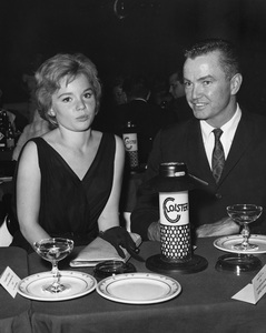 Tuesday Weld and agent Dick Clayton at Bobby Darin Cloister partycirca 1960Photo by Joe Shere - Image 0335_0360