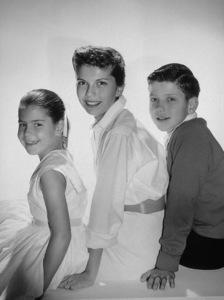Nancy Sinatra, Frank Sinatra Jr., and Tina Sinatra circa 1954 © 1978 John Engstead - Image 0336_0135