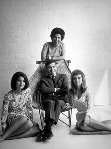 Nancy Sinatra, Tina Sinatra, Nancy Barbato, Frank Sinatra Jr. circa 1965 © 1978 John Engstead - Image 0336_0136