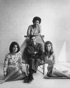 Nancy Sinatra, Tina Sinatra, Nancy Barbato and Frank Sinatra Jr.circa 1965 © 1978 John Engstead - Image 0336_0136
