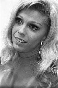 Nancy Sinatra at a recording session 1968© 1978 Ed Thrasher - Image 0336_0208