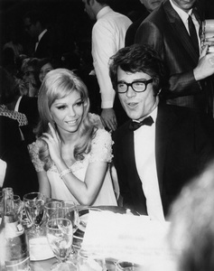 Nancy Sinatra and Warren Beattycirca 1960s** J.S.C. - Image 0336_0212
