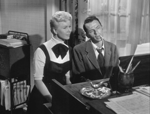 """Frank Sinatra and DorisDay in """"Young at Heart"""" / 1954 WarnerPhoto By Jack Woods - Image 0337_0007"""